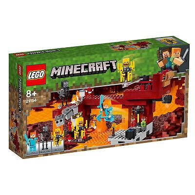 LEGO Minecraft 21154 21153 Die Brücke Die Schaffarm Steve-Minifigur  N8/19 2
