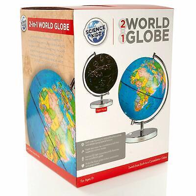 Science Kidz 2 in 1 Illuminated World Globe Light Up Constellation Night Lamp 5