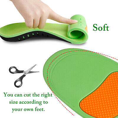 Orthotic Shoe Insoles Inserts Flat Feet High Arch Support for Plantar Fasciitis 7