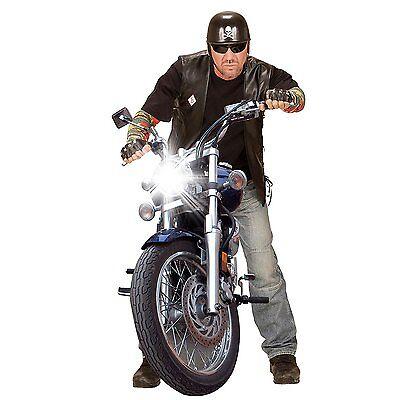 Punk Rocker Biker Gothic Pop Star 70's 80's biker YMCA Men Women Accessories UK 2