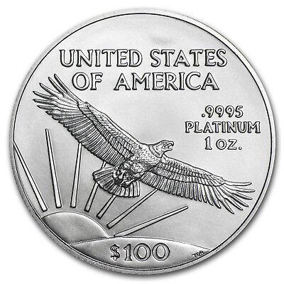 1 oz Platinum American Eagle MS-69 PCGS (Random Year) - SKU #150216