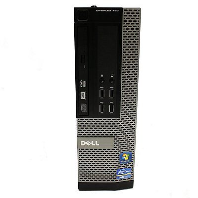 DELL OPTIPLEX 790/990 SFF or DT Windows 7 Pro Core I5 DVD 3 4GHz 4GB WiFI  ready