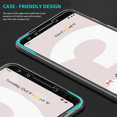 Google Pixel 3 XL Pixel 2 XL 9H Premium Cover Tempered Glass Screen Protector 3