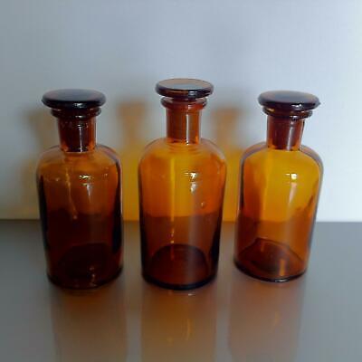 (b50) Braune Apothekerflaschen Apotheke Arzt Vorrat Tee 100ml ohne Label 3
