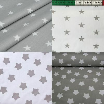 Extra Wide 100/% Cotton Fabric Black// 2 Sizes White Polka Dot by the METRE #004