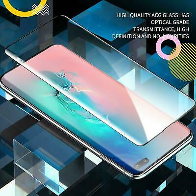 Samsung Galaxy S8 S9 S10 Plus 10e Note 9 10 Full Tempered Glass Screen Protector 3