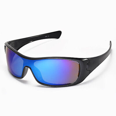 a44c010bac0c ... New Walleva Ice Blue Replacement Lenses for Oakley Antix Sunglasses 4