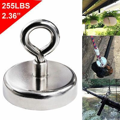 120kg/90kg Recovery Magnet Fishing Treasure Metal Detector with 30 Metre Rope 8
