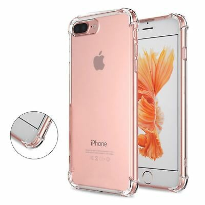 for iPhone Xs 8 7 6s Plus 5s 11 XR Case Cover Silicon Shockproof Tough Hard Gel 6