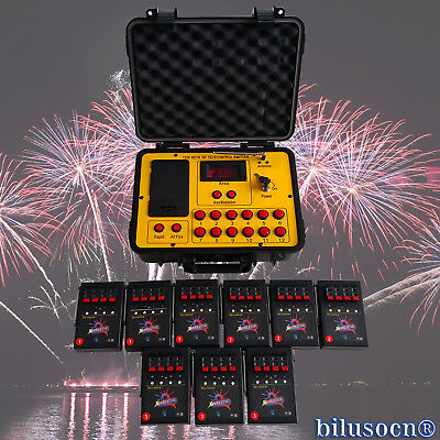 Bilusocn 300M distance+36 Cues Fireworks Firing System remote Control Equipment 2
