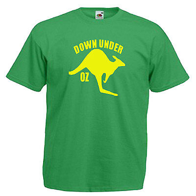 Australia Kangaroo Adults Mens T Shirt 7