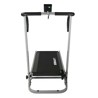 Manual Treadmill Walking Running Cardio Portable Incline Fitness Workout 9
