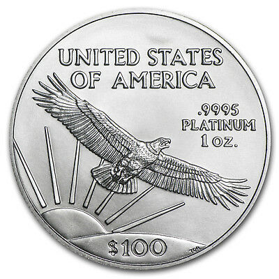 2018 1 oz Platinum American Eagle BU (w/U.S. Mint Box) - SKU#152919 3