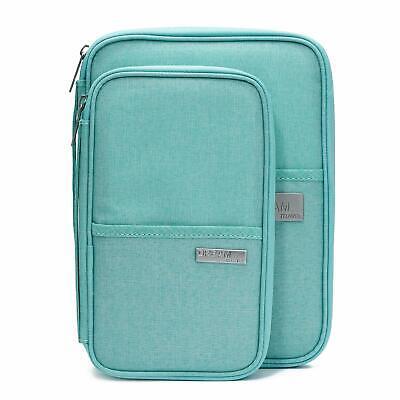 Family Passport Holder Travel Wallet Ticket Document Organiser Bag Multi-purpose 10
