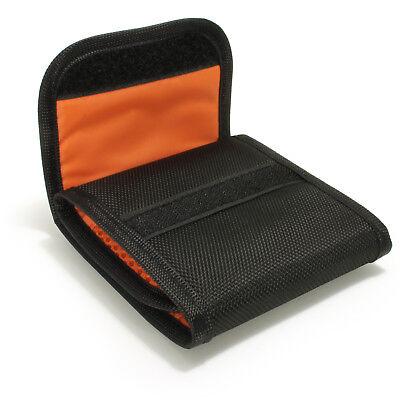 3 Pocket Bag Pouch Holder Storage Case for SLR DSLR Camera Lens Filters 43-77mm 6