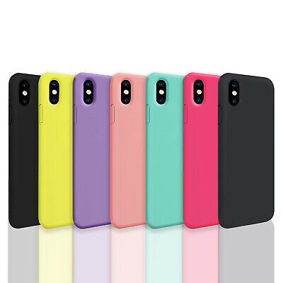 iPhone X XS Max XR iPhone 8 Plus iPhone 7 Plus Thin Soft Silicone Case Cover 2