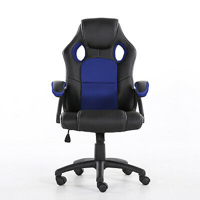 Office Chair Executive Racing Gaming Swivel Pu Leather Sport Computer Desk 3
