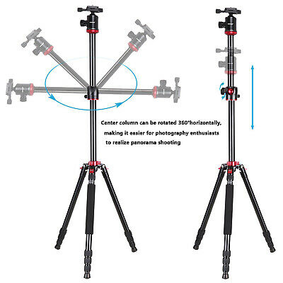 Neewer Camera Tripod Monopod with Ball Head for DSLR Camera Video Camcorder 2