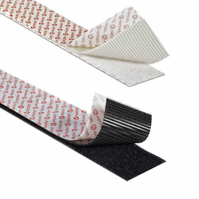 VELCRO® SELF ADHESIVE TAPE Hook and Loop Double-Sided Stick On Fastener Strips 5