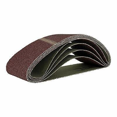50 Schleifbänder 75x533 Schleifband Bandschleifpapier Korn 60