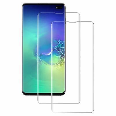 Vitre Film Protection Total Verre Trempé Samsung Galaxy S7 S8 S9 Plus S10 Edge 7