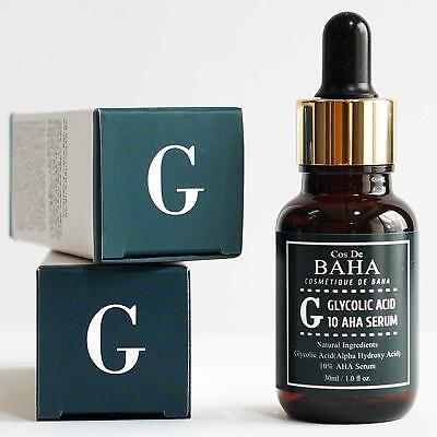Glycolic Acid 10% AHA Facial Serum Chemical Peeling Anti Aging Wrinkles Acne 1oz 4