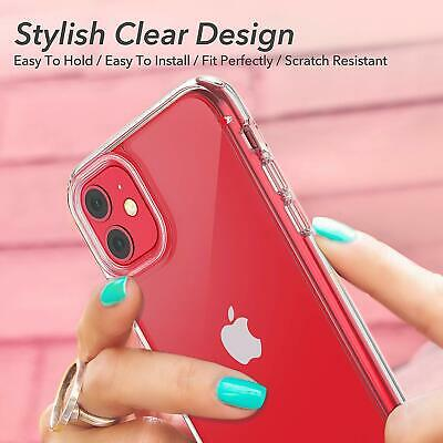 Shockproof Transparent Silicone Case Cover For iPhone 11 XS Max XR 8 7 Plus 6S 6 2