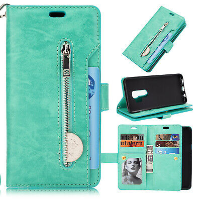 For Samsung Galaxy Note10 Plus S10+ S9 S8 S7 Flip Card Wallet Leather Case Cover 7