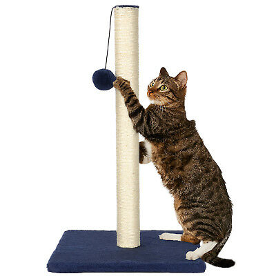 LIVINGbasics® Cat Scratch Play Post Kitten Scratching Pole Stand With Toy Ball 2