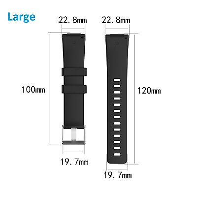For Fitbit Versa / Versa Lite Replacement Band Silicone Strap Wristband 3