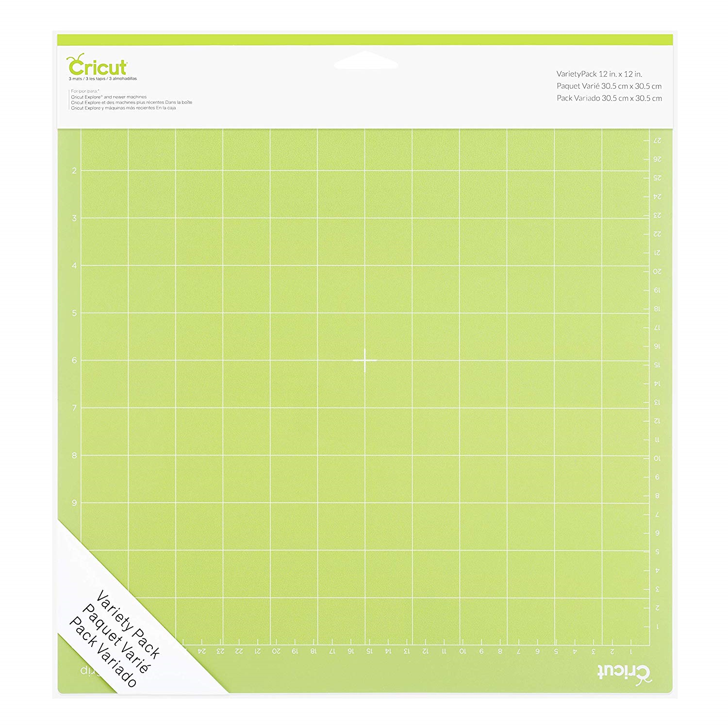 """Cricut Tools Accessories Variety 3 pack Adhesive Cutting Mat 12"""" x 12"""" 2002217 10"""