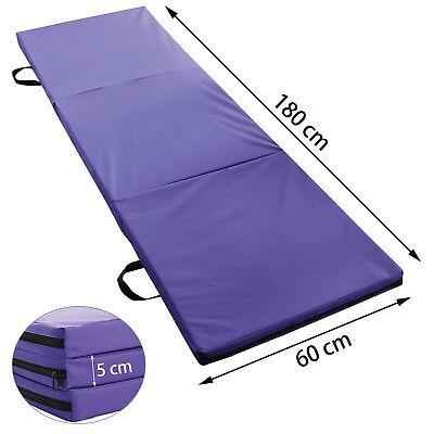 Folding Exercise Floor Mat Dance Yoga Gymnastics Training Home Judo Pilates Gym 3