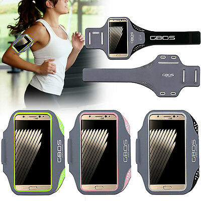 GBOS® Armband For Samsung Galaxy S7 & S7 Edge Running Sports With Adjustable