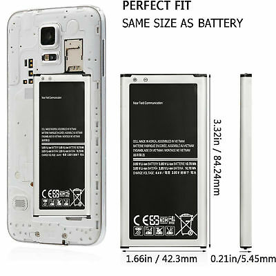 Brand NEW Genuine Original OEM Samsung Galaxy S5 Battery 2800mAh with NFC