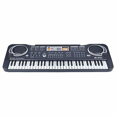 61 Keys Digital Electric Piano Music Electronic Keyboard Organ Mini Microphone 8