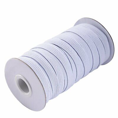 Round Flat Elastic Bungee Rope Shock String Stretchable Cord Dress Making Craft 10