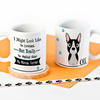Personalised Dog Mug Funny Pet Cup Birthday Gift All Breeds 5