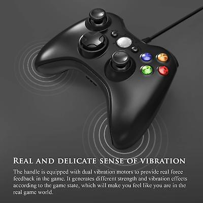 Wired USB Game Controller Joystick for Microsoft Xbox 360 / PC Windows XP 7 8 10 8
