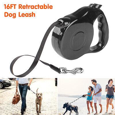 Heavy Duty Retractable Dog Leash 16ft Walking Lead for S/M Pet Dogs Waterproof 6