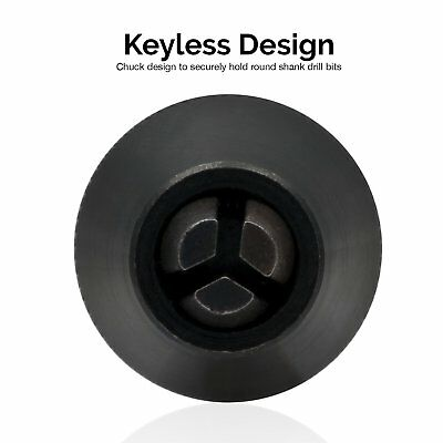 "1/4"" Keyless Chuck Conversion | Hex Shank Adapter Drill Bit Quick Change Driver 8"