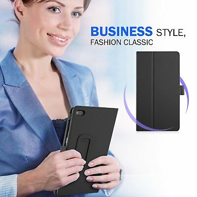 For Lenovo Tab E7 E8 Folding Stand PU Leather Business Heavy Duty Case Cover 9