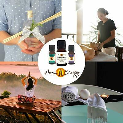 ESSENTIAL OILS Aromatherapy Natural Pure Organic Essential Oil Fragrances 10ml 5