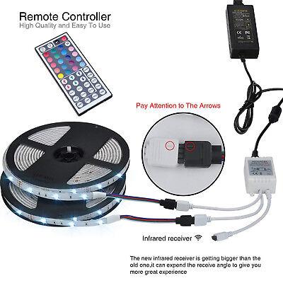 1-30M LED Stripe RGB Leiste Streifen 5050 Band IP65 Wasserdicht Lichterkette 3