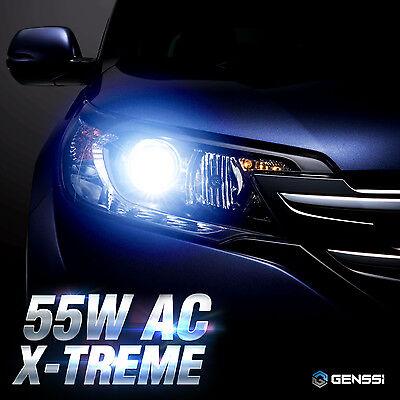GENSSI AC 55W HID Kit H4 H7 H11 H13 9003 9005 9006 9007 6000K Hi-Lo Bi-Xenon 8