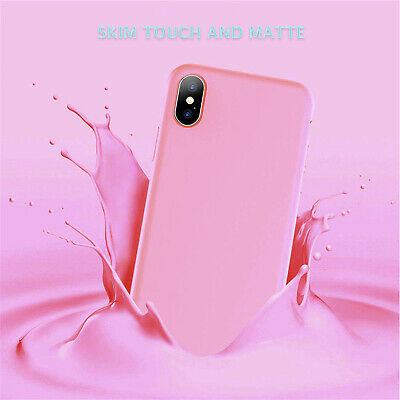iPhone X XS Max XR iPhone 8 Plus iPhone 7 Plus Thin Soft Silicone Case Cover 5