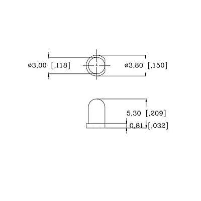 100 x Pre wired 12v 3mm Amber Orange LEDs Prewired 12 volt LED 11v 13v 14v 15v