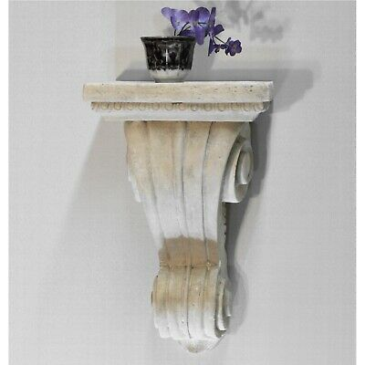 "Corbel Bracket or Shelf Faux Stone Vintage Victorian Style Big 19"" Tall Sconce 4"