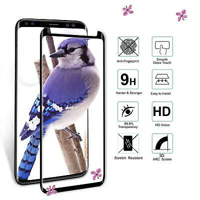 100% Genuine tempered glass screen protector for Samsung Galaxy S9 - Black 7