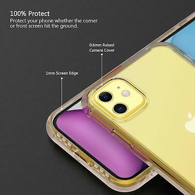 Shockproof Transparent Silicone Case Cover For iPhone 11 XS Max XR 8 7 Plus 6S 6 11