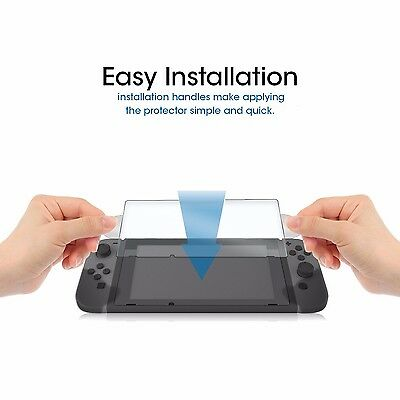 2 X Nuglas Nintendo Switch Tempered Glass Screen Protector for Nintendo Switch 10